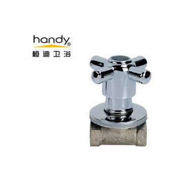 Cross Handle Swivel Switch Angle Valve