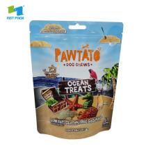Compostable Ocean Treats Dog Chews Paper Packaging