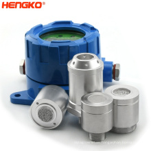 Porous flameproof metal SS 316 Stainless Steel Welding Exhaust H2S Gas Filter housing