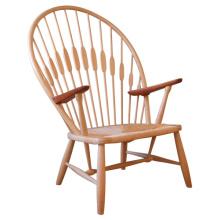 Cadeira do pavão do lazer do jardim de madeira