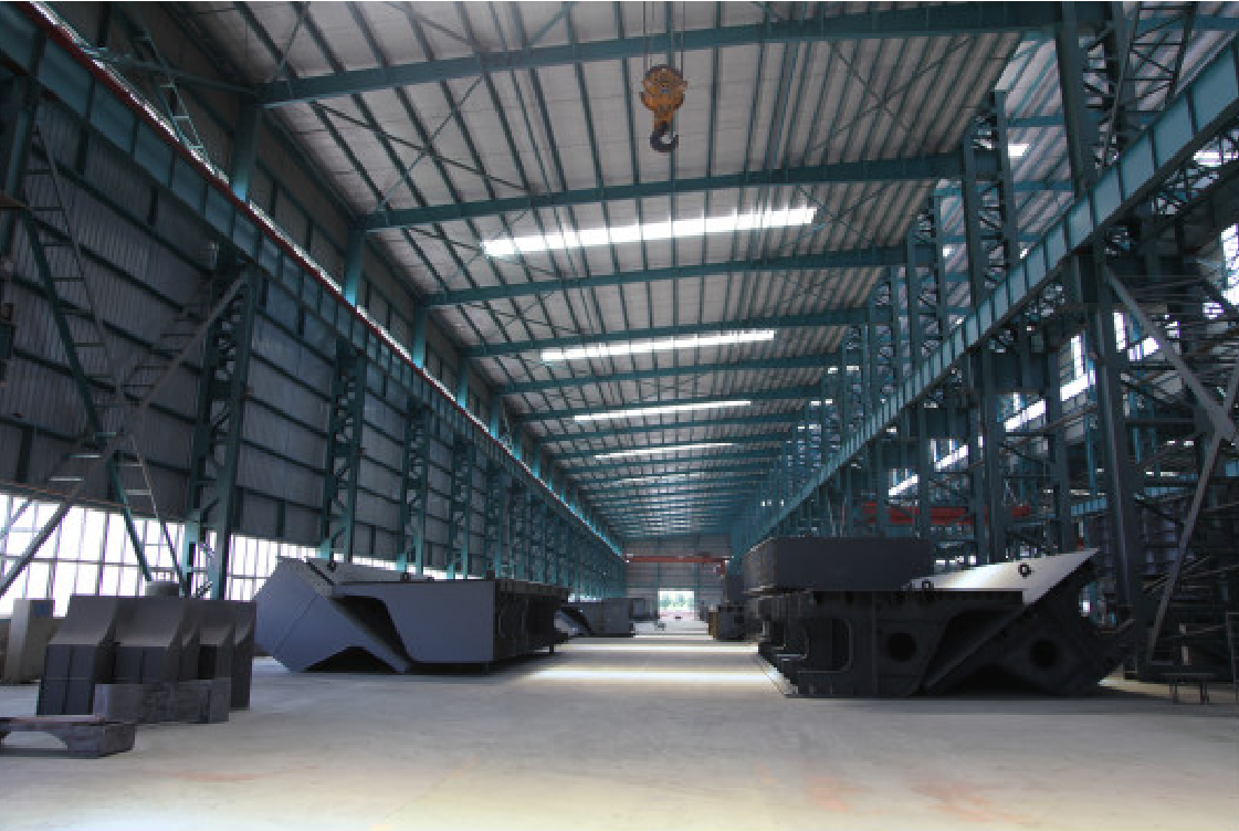 Steel structure product processing