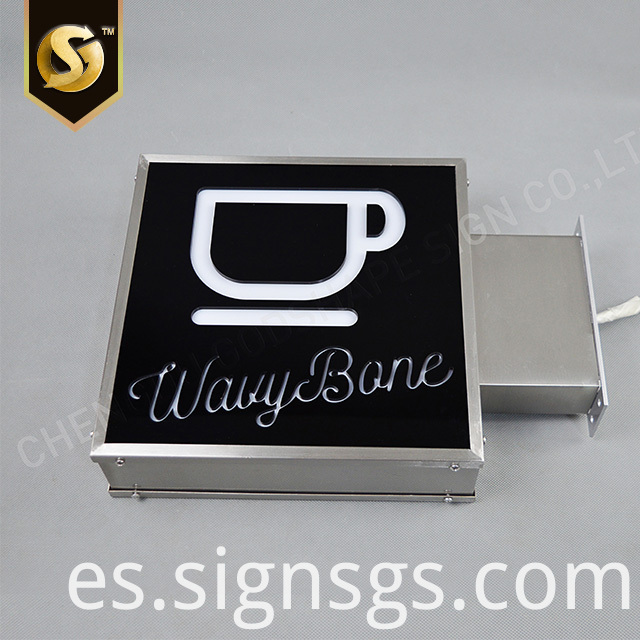 square light box 7