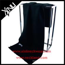 2015 nuevo producto chino moda seda cepillo de seda negro bufanda