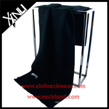 2015 novo produto chinês moda seda pincel preto lenço de seda