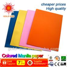 papel de cor manila
