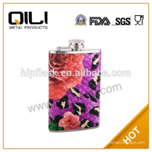 Hot sale 5oz LFGB/FDA wholesale disposable liquor hip flasks for wending gifts