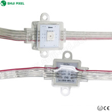 NEUE Design IP67 Individuell adressierbare 17mm platz modul pixel LED 1 stücke SMD APA102C string vorhang licht für festival decora