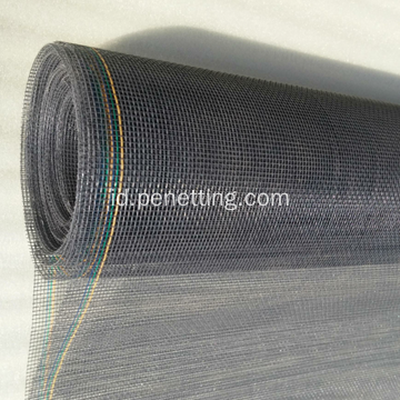 PVC Plastik Tahan Api Dilapisi Fiberglass Window Screen