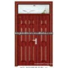 Pop design steel wood double door JKD-3022(A)