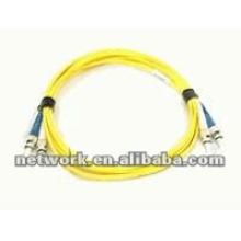 ST-ST Single mode Duplex fibra óptica cabo de remendo 1 metro