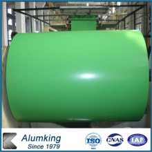 Green Painted Aluminum Coil for Interior Ceiling