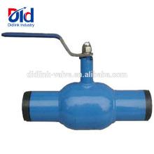 Joint de gaz Arita Fileté Inoxydable 3 Voies St37.0 Robinet À Bille Soudé Complet En Acier Au Carbone 1 2 Pouce