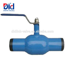 Gas Gasket Arita Threaded Stainless 3 Way St37.0 Carbon Steel Full Welded Ball Valve 1 2 Inch