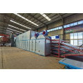 4 Deck Biomass Veneer Dryer Machine