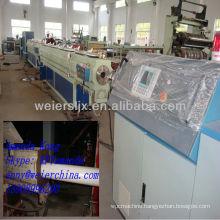 CE Qingdao weier Single screw PE pipe plastic machine