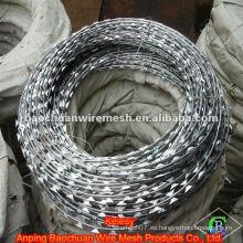 BTO-10 galvanizado de alambre de púas de la alambre de acero de la rotura del alambre de púas (fábrica)