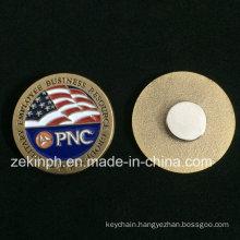 Custom Metal Magnet Name Metal Pin Badges