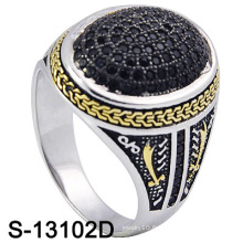Nouveau modèle 925 anneaux d'or en argent sterling (S-13102D)