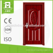 portas de incêndio de madeira avaliado do fogo usadas para a casa na venda quente
