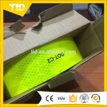 Fita reflexiva do reboque alaranjado fluorescente DOT-C2