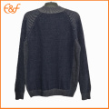 Hommes Zip Up Sweater Cardigan Winter Knit Jacket