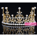 Véritable diamant beauté femmes accessoires chine tiara