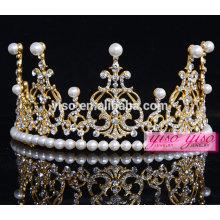 Echte Diamant Schönheit Frauen Zubehör China Tiara