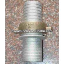 Pin-lug hose shank coupling