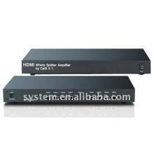 HDMI 8 puertos Splitter Amplificador de Cat5 X 1
