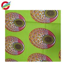 La tela cruzada africana pura de la cera del poliéster imprime la tela tejida para la venta