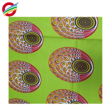 Pure polyester african wax twill prints woven fabric for sale