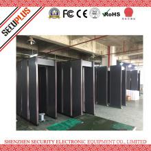 IP55 18 Zones Walk through Security Door Metal Detecting Gate SPW-300B