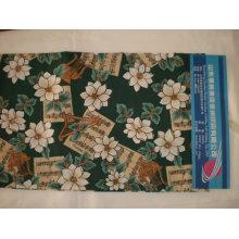 Tissu d'impression de 100% polyester pour l'ensemble de literie et pour d'autres textiles de maison