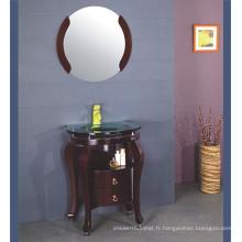 Meuble pour salle de bain en bois massif Expresso (B-605)