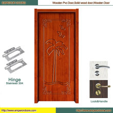 Plain Wooden Door Foshan Wooden Door Glass Wooden Door