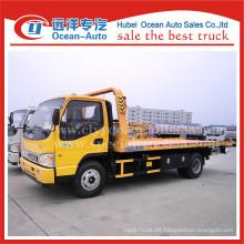 JAC 4x2 3TON remolque de camión con remolque para la venta