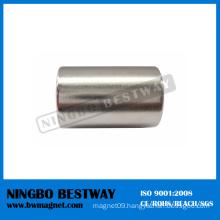 N42 D20x45mm Cylinder Neodymium magnet w/Ni coating
