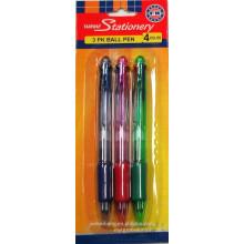 (JML) preiswerter Preis mit guter Qualität Kugelschreiber 4 Farbe einziehbare Kugelschreiber