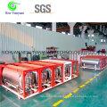 160L Effective Volume Lo2/Ln2 Liquid Storage Tank Cylinder
