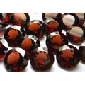 Pierre gemme grenat bijoux Set (GA001)