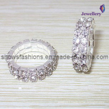 Silver Plated Diamond Jewelry Ring (XRG12000)