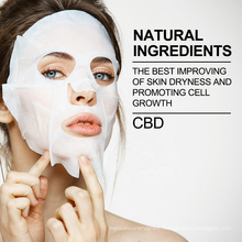 Top Selling Beauty Skin Care Cannabidiol Skin Care products For Facial Sheet  20mg CBD