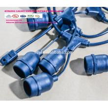 SLT 8022 luces de cadena al aire libre del LED, iluminación comercial del jardín del ambiente