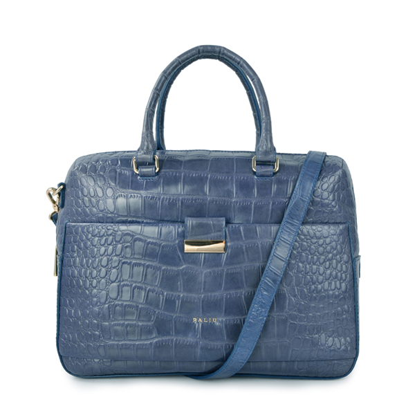 crocodile leather new fashion design women business handle bag