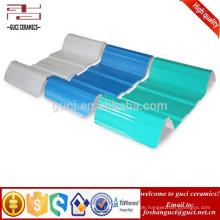 3 Schichten thermische Plastik-UPVC-Dach-Blatt-gewölbte Dachplatte
