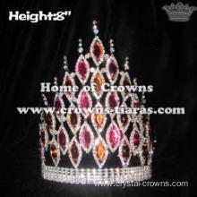 8in Spike Queen Diamond Crowns