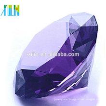 Crystal Diamond Charm Purple Crystal Diamond Jewelry Wedding favors