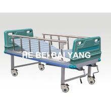 A-88 cama de hospital manual de duas funções