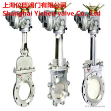 Electric Lug Stainless Steel Knife Gate Valve