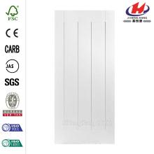 24 po x 80 po. Riverside Smooth 5-Panel Equal Hollow Core Primed Composite Single Prehung Porte d'intérieur